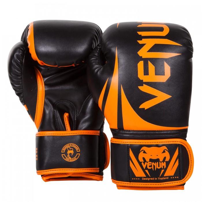 Боксови ръкавици - Venum Challenger 2.0 Boxing Gloves - Neo Orange/Black