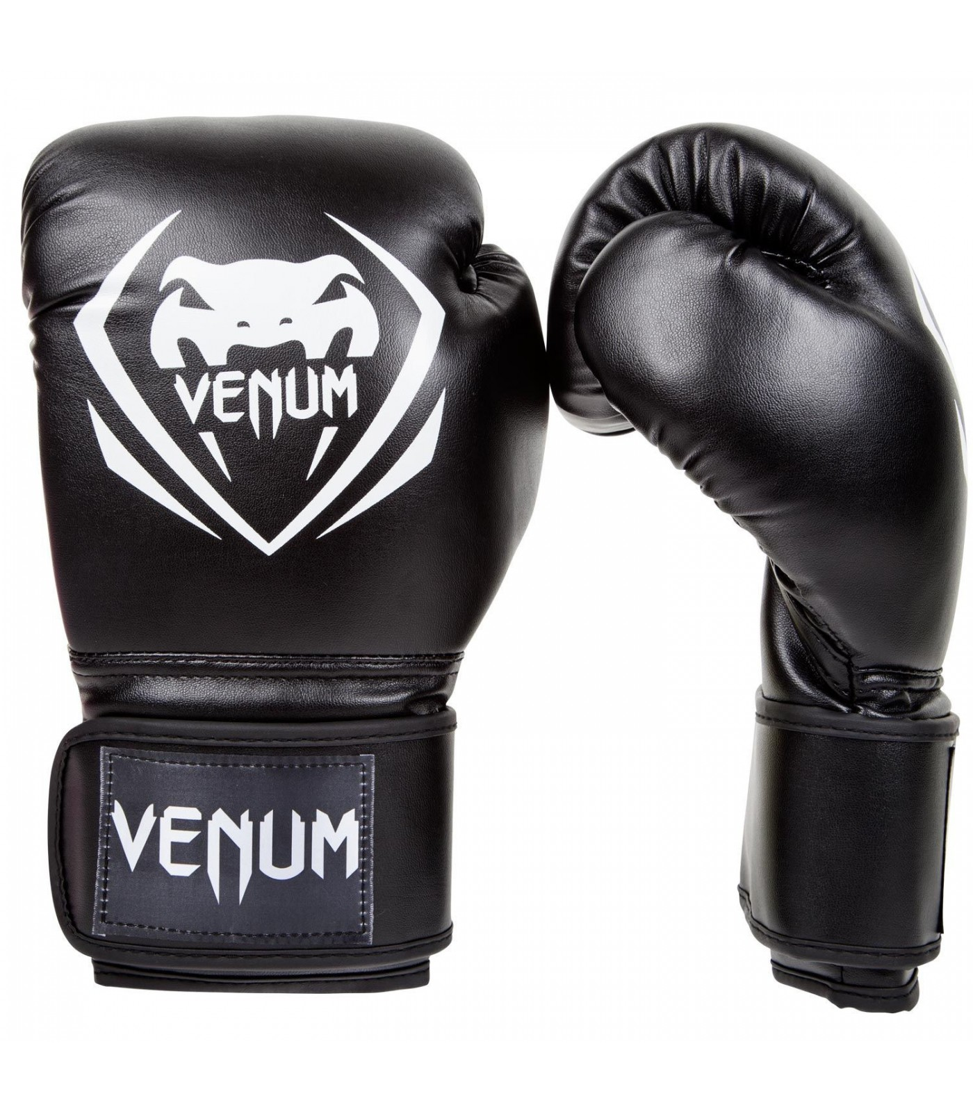 Боксови Ръкавици - VЕNUM CONTENDER  BOXING GLOVES - BLACK​