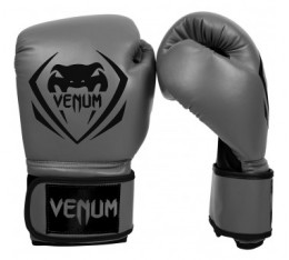 Боксови ръкавици - Venum Contender Boxing Gloves - Grey Боксови ръкавици
