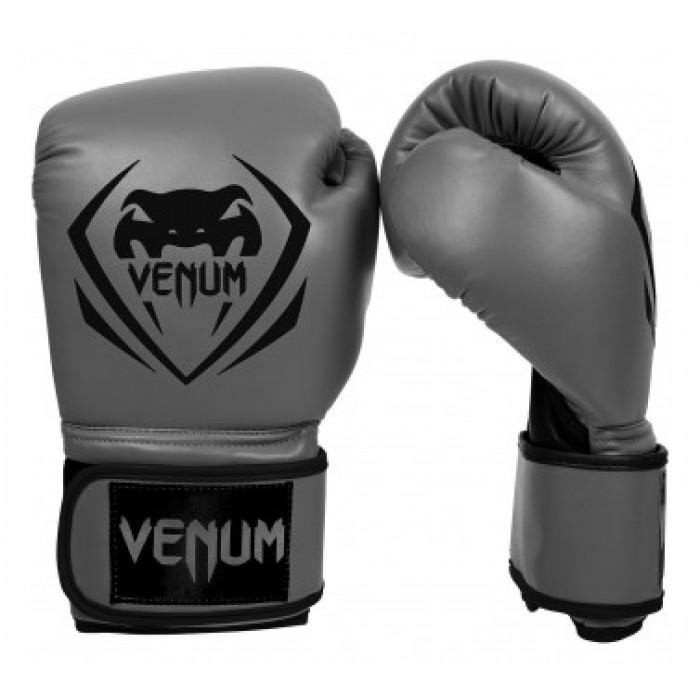 Боксови ръкавици - Venum Contender Boxing Gloves - Grey