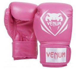 БОКСОВИ РЪКАВИЦИ - VЕNUM CONTENDER BOXING GLOVES - PINK​
