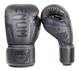 Боксови Ръкавици - VENUM ELITE BOXING GLOVES - GREY/GREY Други ръкавици