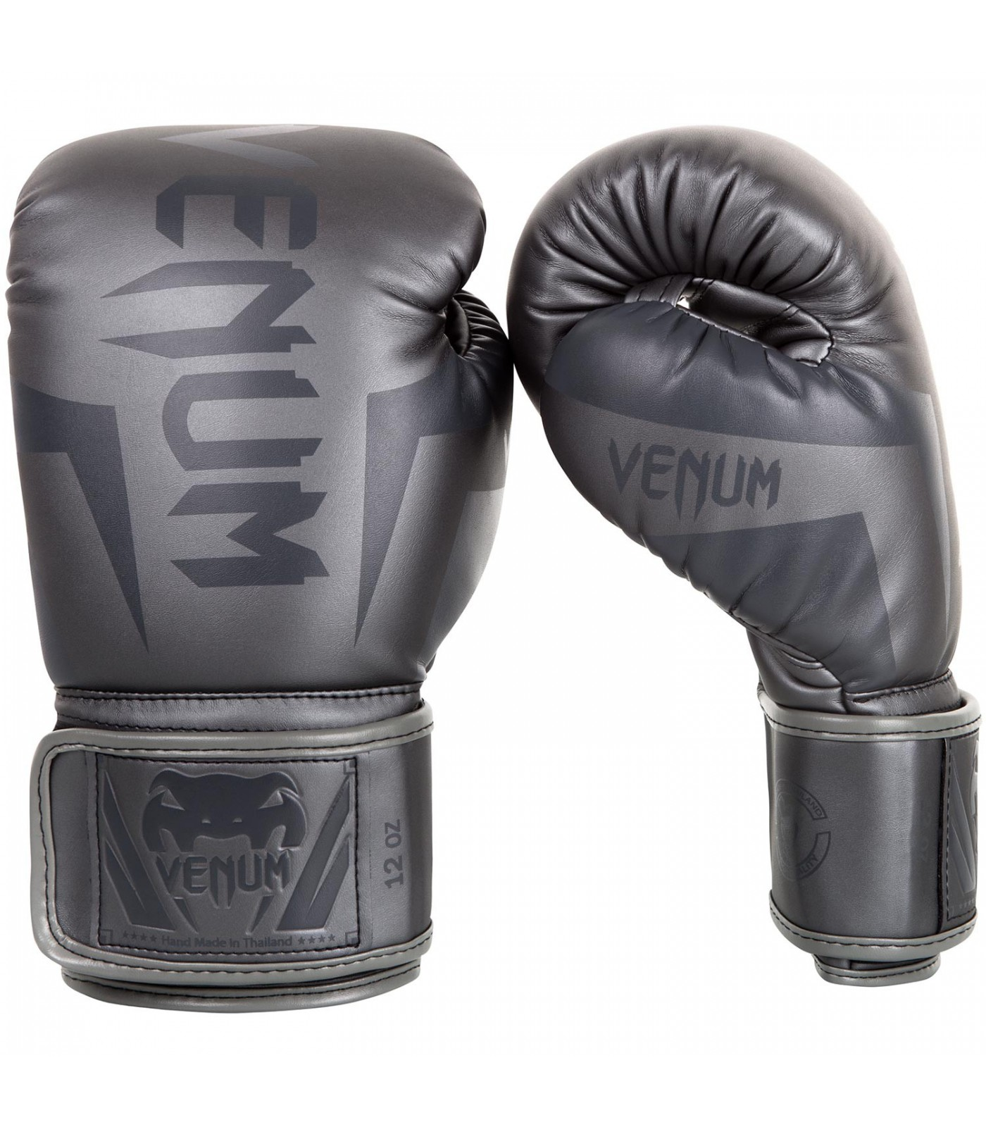 Боксови Ръкавици - VENUM ELITE BOXING GLOVES - GREY/GREY​