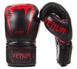 Боксови ръкавици - VENUM GIANT 3.0 BOXING GLOVES / BLACK/DEVIL Боксови ръкавици