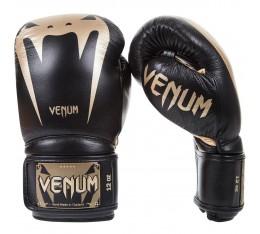 Боксови ръкавици - VENUM GIANT 3.0 BOXING GLOVES / BLACK/GOLD Боксови ръкавици