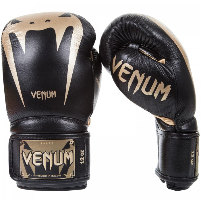 Боксови ръкавици - VENUM GIANT 3.0 BOXING GLOVES / BLACK/GOLD​