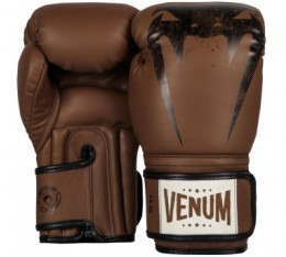 Боксови Ръкавици - VENUM GIANT SPARRING BOXING GLOVES - BROWN Други ръкавици