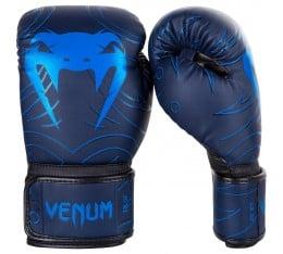 Боксови Ръкавици - VENUM NIGHTCRAWLER BOXING GLOVES / BLUE Боксови ръкавици