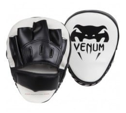 "Лапи - Venum / ""Light"" Focus Mitts - Ice/Black (Pair)​ Tреньорски аксесоари"