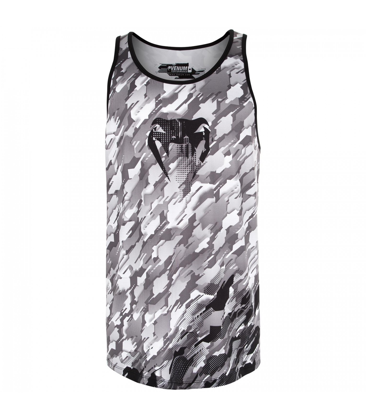 Потник - Venum Tecmo Tank Top - Black/Grey