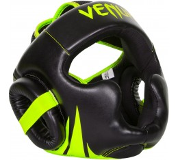 Протектор за глава  /каска/ - VENUM CHALLENGER 2.0 HEADGEAR NEO YELLOW / BLACK​ Протектори за глава