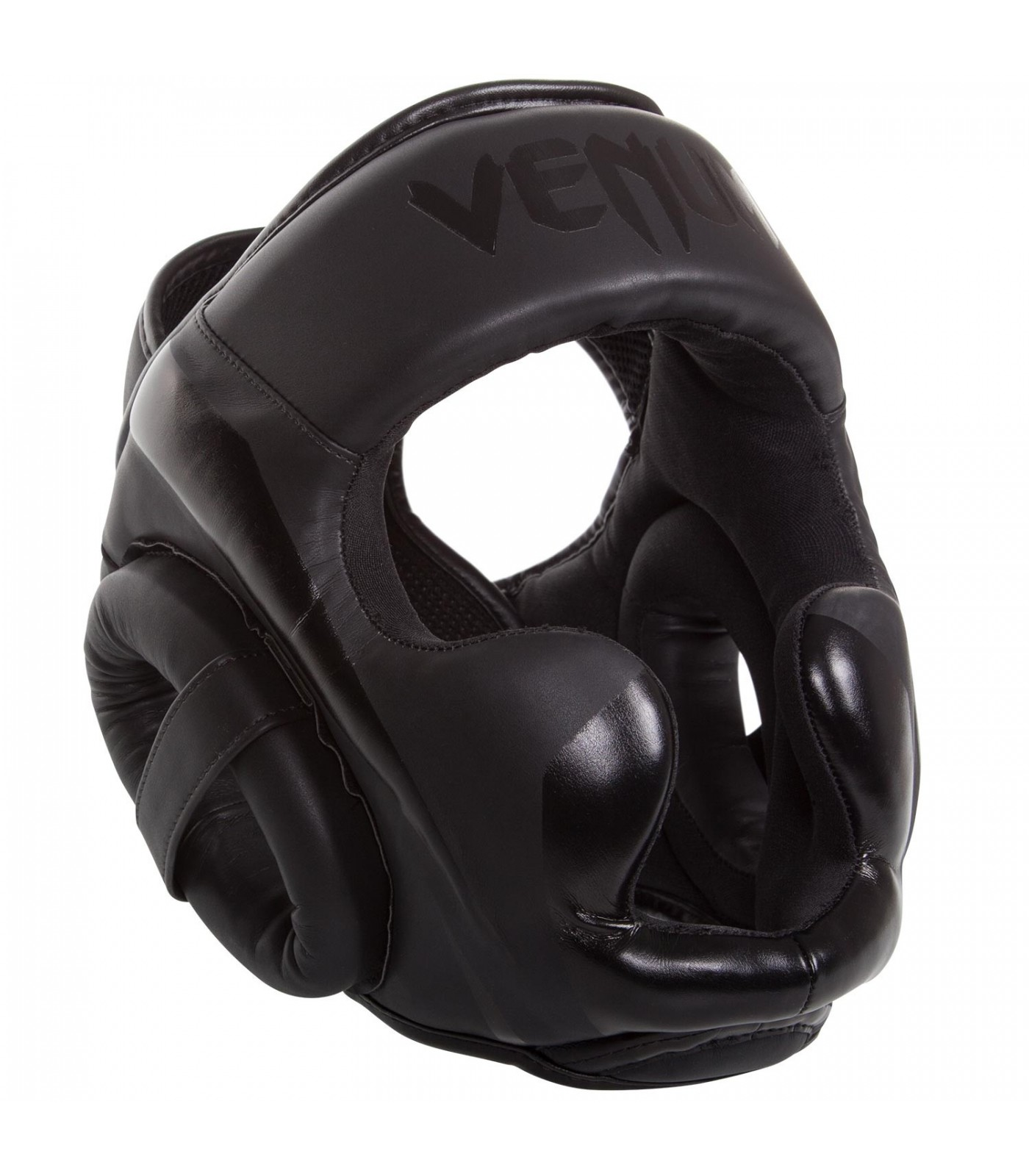 ПРОТЕКТОР ЗА ГЛАВА / КАСКА - VENUM ELITE HEADGEAR BLACK / MATTE​