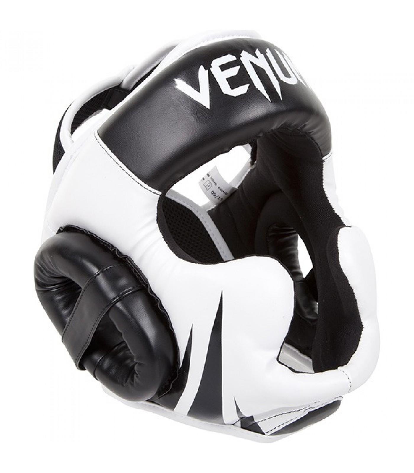 Протектор за глава / Каска / - VENUM CHALLENGER 2.0 HEADGEAR / BLACK/ICE
