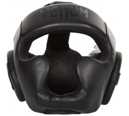 Протектор за глава  /каска/ - VENUM CHALLENGER 2.0 HEADGEAR  BLACK/BLACK Протектори за глава