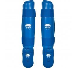 Протектор за крака - VENUM KARATE SHIN PAD & FOOT PROTECTOR - EKF APPROVED / BLUE Други протектори