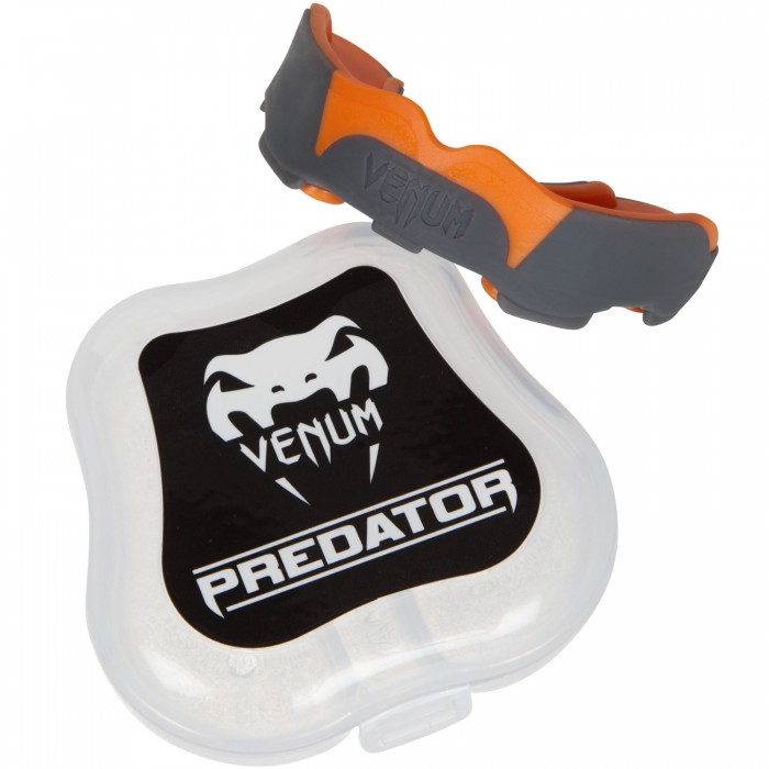 "Протектор за уста - VENUM ""PREDATOR"" MOUTHGUARD - ORANGE/GREY​"