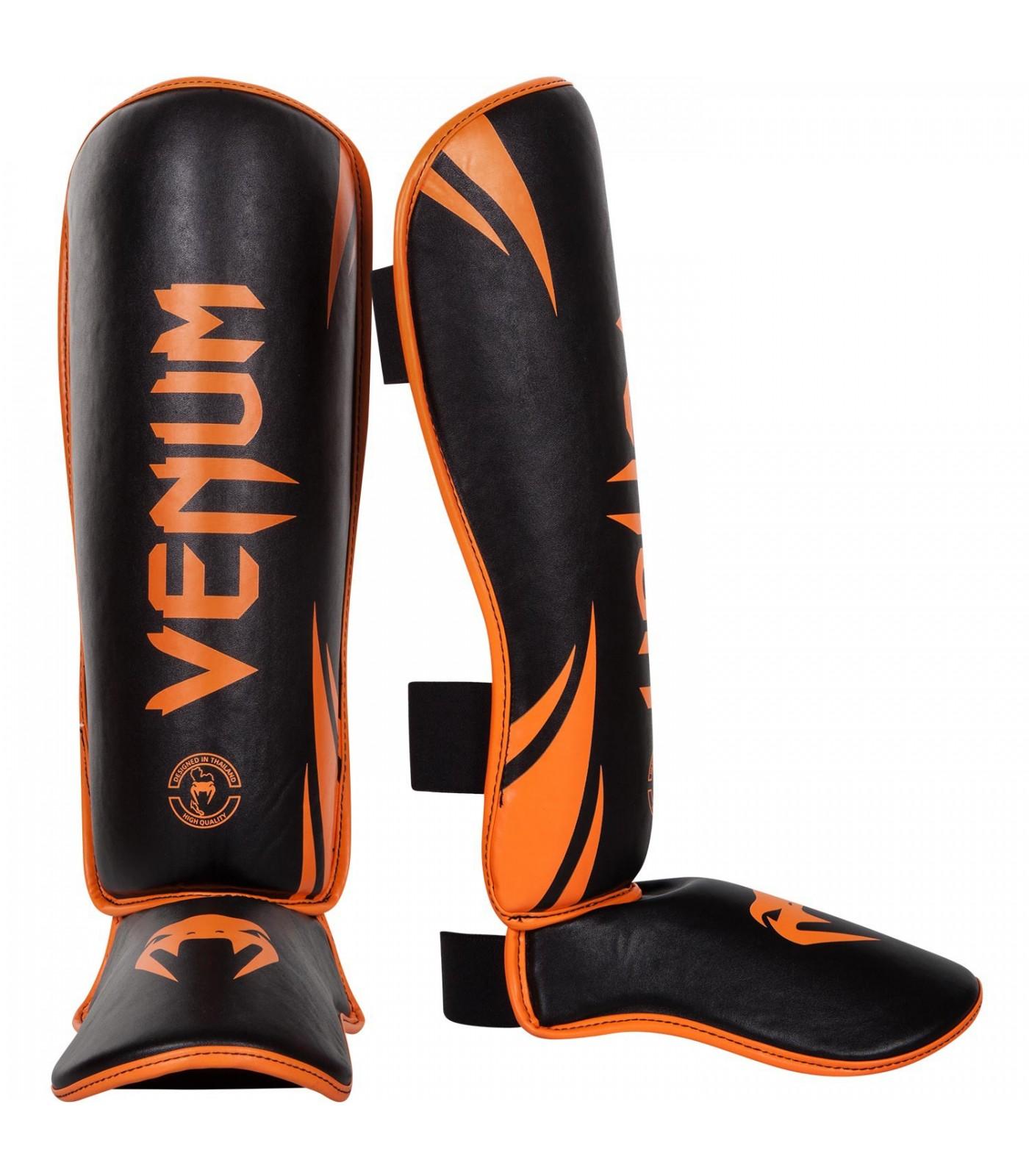 Протектори за крака - Venum Challenger Standup Shinguards - Neo Orange/Black