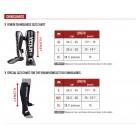 Протектори за крака - VENUM GLADIATOR 3.0 SHINGUARDS - BLACK/WHITE