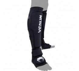 Протектори за крака - VENUM - KONTACT EVO SHINGUARDS / BLACK Протектори за крака