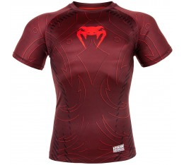 РАШГАРД - VENUM NIGHTCRAWLER RASHGUARD - SHORT SLEEVES - RED​ Рашгарди