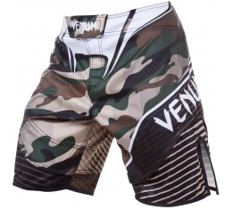 Шорти - VENUM CAMO HERO FIGHT SHORTS / GREEN/BROWN​ Къси гащета