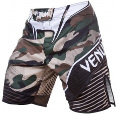 Шорти - VENUM CAMO HERO FIGHT SHORTS / GREEN/BROWN​