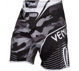 ШОРТИ - VENUM CAMO HERO FIGHTSHORTS / WHITE/BLACK​ Къси гащета