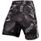 Шорти - VENUM GLADIATOR 3.0 FIGHTSHORTS - BLACK/WHITE​