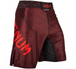 Шорти - VENUM NIGHTCRAWLER FIGHTSHORTS - RED​ Къси гащета