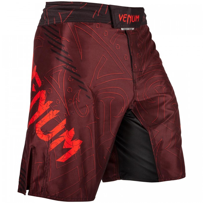 Шорти - VENUM NIGHTCRAWLER FIGHTSHORTS - RED
