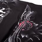 Шорти - VENUM SAMURAI SKULL FIGHTSHORTS - BLACK