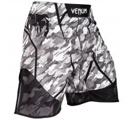 Шорти - Venum Tecmo Fightshorts - Black/Grey Къси гащета