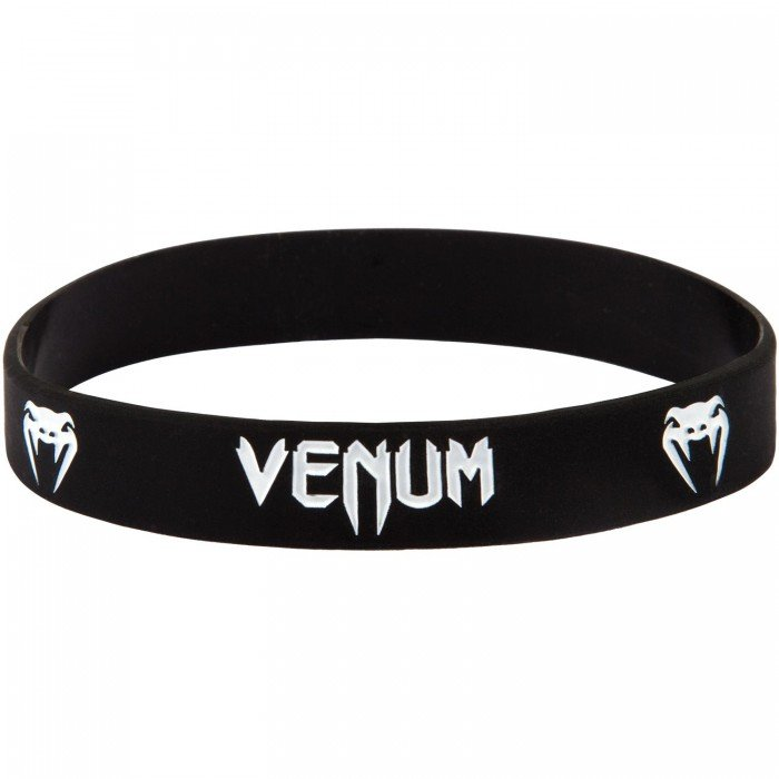 Силиконова Гривна - VENUM RUBBER BAND - BLACK / WHITE​