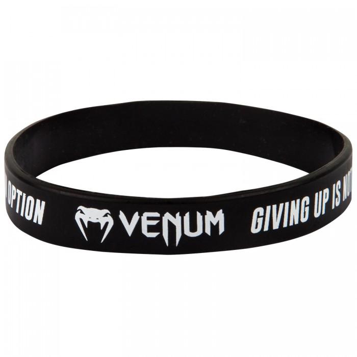Силиконова Гривна - VENUM RUBBER BAND - GIVING UP - BLACK