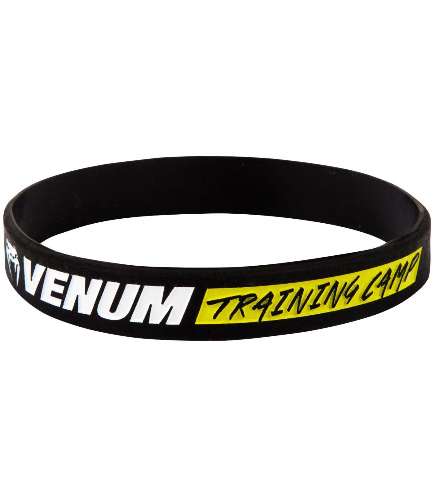 Силиконова Гривна - VENUM RUBBER BAND - TRAINING CAMP - BLACK