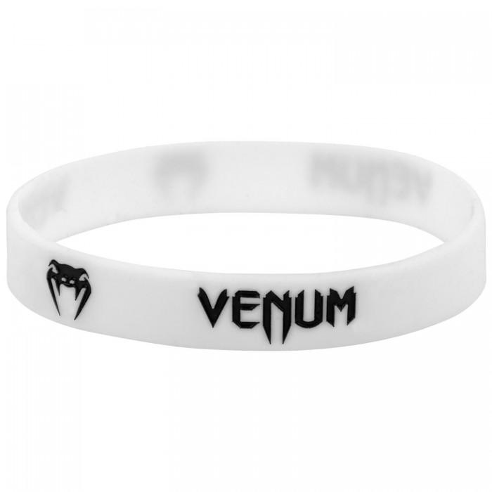Силиконова Гривна - VENUM RUBBER BAND - WHITE / BLACK