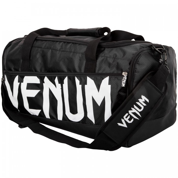 Спортен Сак - VENUM SPARRING SPORT BAG - BLACK/WHITE​