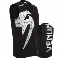 Тениска без ръкави - VENUM GIANT TANK TOP - BLACK/ICE Тениски