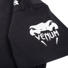 Тениска - VENUM - CHALLENGER T-SHIRT - BLACK/ICE​