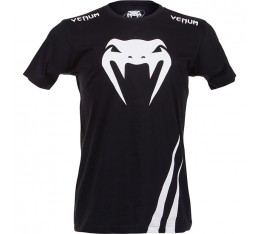 Тениска - VENUM - CHALLENGER T-SHIRT - BLACK/ICE​ Тениски
