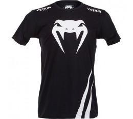 Тениска - VENUM - CHALLENGER T-SHIRT - BLACK/ICE Тениски