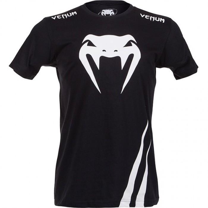 Тениска - VENUM - CHALLENGER T-SHIRT - BLACK/ICE
