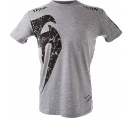Тениска - VENUM GIANT T-SHIRT - GREY/BLACK​ Тениски