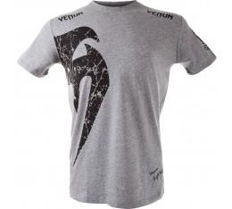 Тениска - VENUM GIANT T-SHIRT - GREY/BLACK Тениски