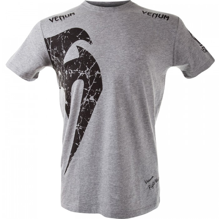 Тениска - VENUM GIANT T-SHIRT - GREY/BLACK​