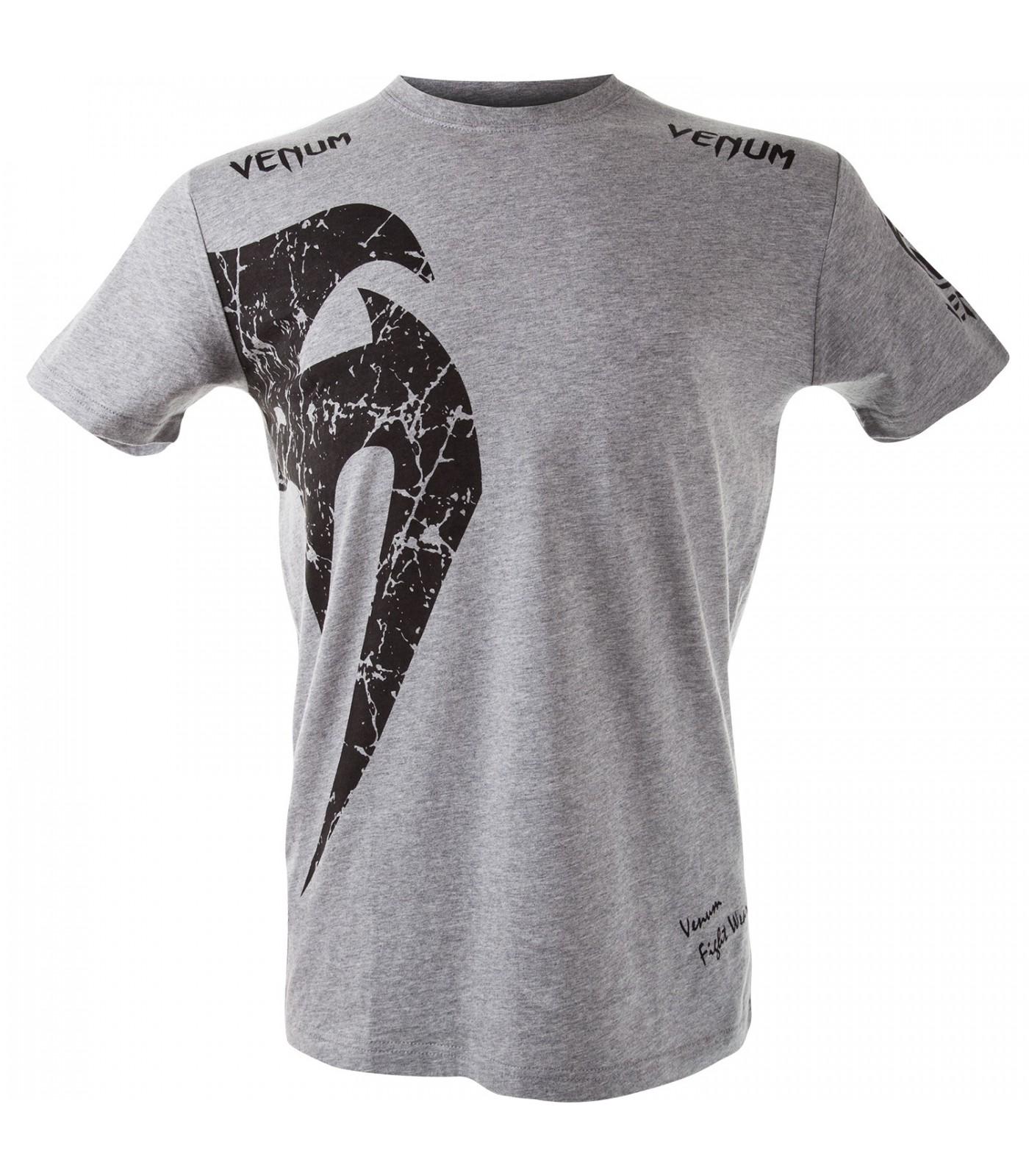 Тениска - VENUM GIANT T-SHIRT - GREY/BLACK