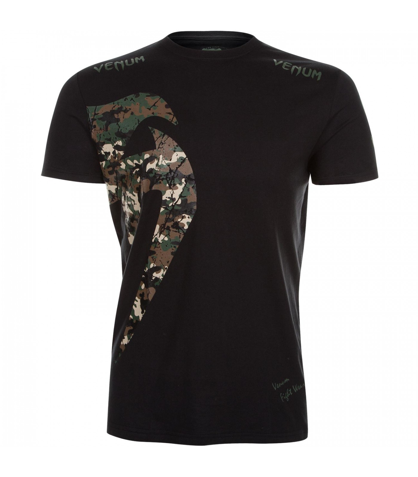 Тениска - VENUM ORIGINAL GIANT T-SHIRT / Jungle Camo Black​