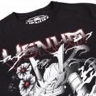 Тениска - VENUM SAMURAI SKULL T-SHIRT - BLACK