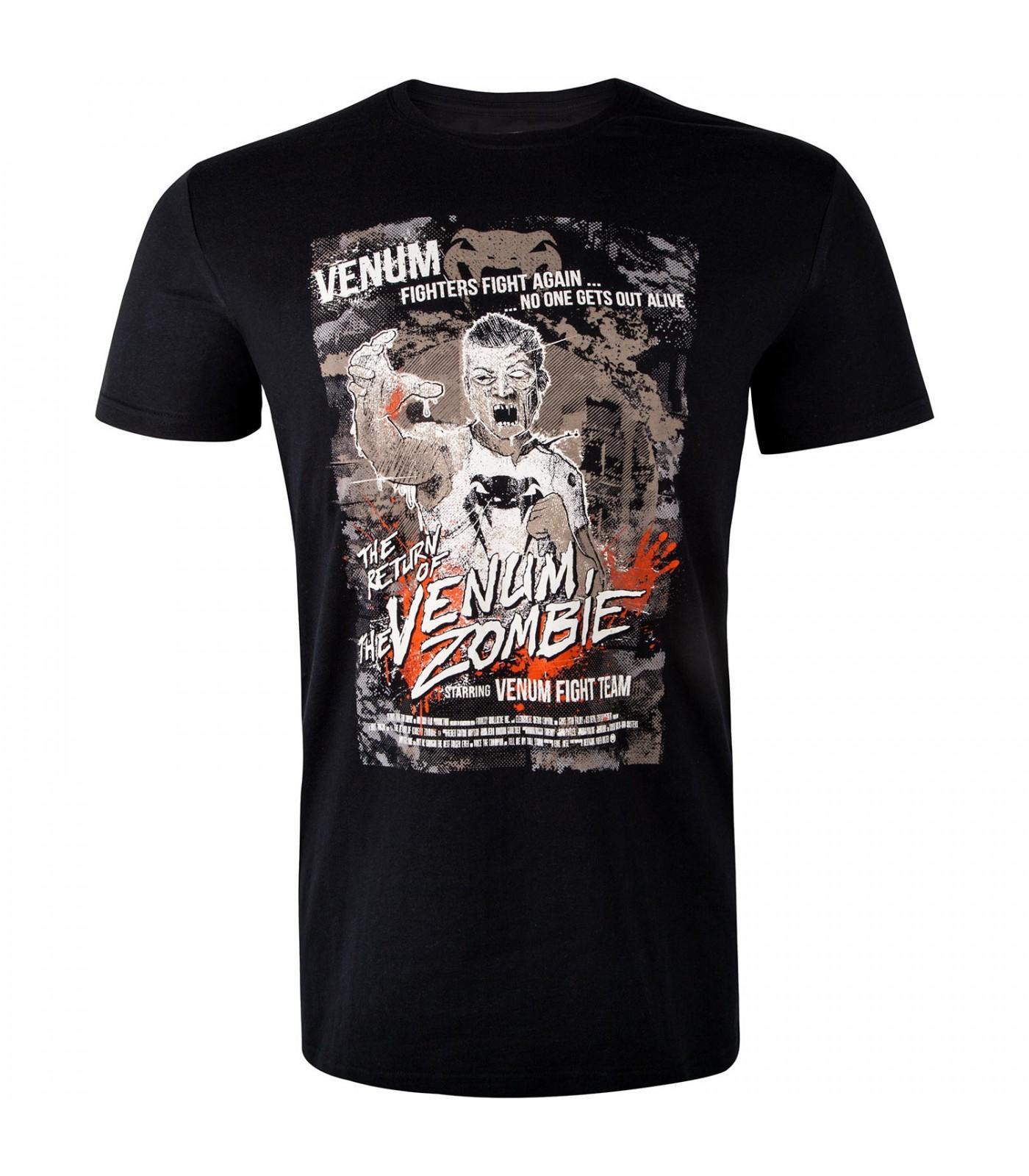 Тениска - VENUM ZOMBIE RETURN T-SHIRT - BLACK
