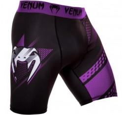Тренировъчен клин с къси крачоли - VENUM RAPID VALE TUDO SHORTS/ Black - Purple Къси гащета, Клинове